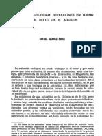 Agustin Libertad y Autoridad
