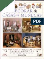 Miniaturas - Como decorar casas de muñecas