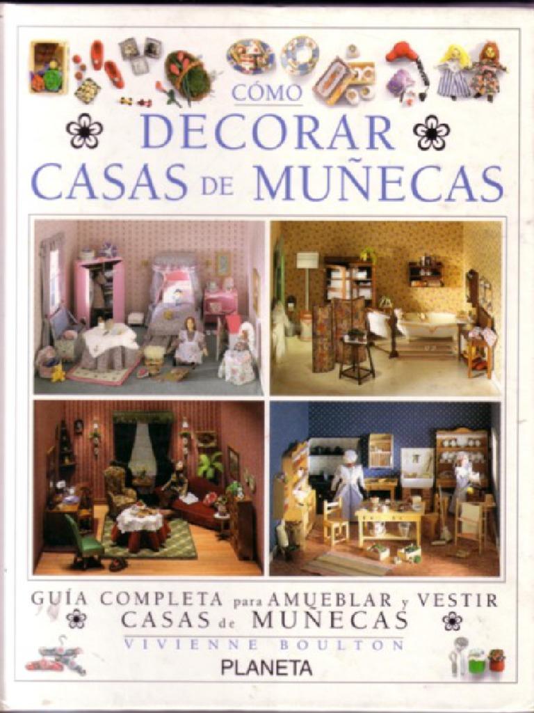 Miniaturas Como Decorar Casas De Munecas - Vestir-casas