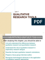 Chapter 7 Qualitative Research Tools