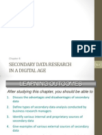Chapter 8 Secondary Data Research