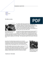 The End War in Rhineland and Westphalia in April 1945