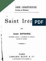 Saint Irenee et le Adv Haer