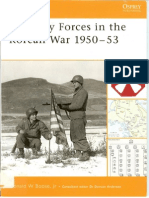 Osprey - Battle Orders 011-  US Army Forces in the Korean War 1950–53