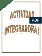 Actividad Integradora Historia