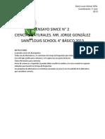 ENSAYO SIMCE N° 2