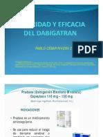 Pacerizu Exposiciones-seguridad y Eficacia Del Dabigatran