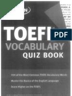 36298049 TOEFL Vocabulary Quiz Book
