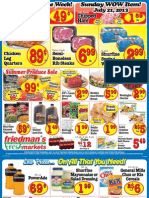 Friedman's Freshmarkets - Weekly Ad - July 18-24, 2013