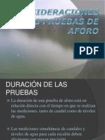 Lopez Perez Consideraciones en Las Pruebas de Aforo