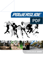 PowerSlide Catalogue2009