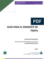 Guia Para Dirigentes de Tropa Colombia 2012