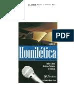 No‡äes de Homil'tica - Jos' Roberto de Oliveira