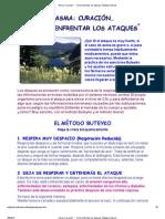 Asma_ Curación · · Cómo enfrentar los ataques
