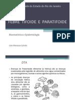 Febre Tifoide e Paratifoide