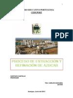 PROCESO DE REFINACIÓN DE AZÚCAR ULTIMO  trabajo ceduport