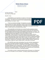 Durbin and Whitehouse letter on torture