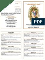 Diptico Virgen de La Asuncion 2013
