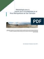 METODOLOGÍA para la Caracterización de la Inundabilidad en el Área Metropolitana de San salvador