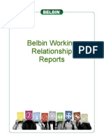 Working Relationship Reports