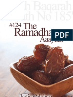 124 the Ramadhlaan Aayath