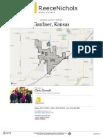 Gardner, Kansas Real Estate Market Activity Report