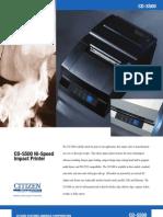 Citizen Systems CD-S500 Impact Printer