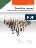 Beyond Citizen Engagement