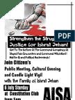 AISA Poster July 6 Ishrat Jehan Vigil