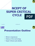Concept of Super Critcal technology