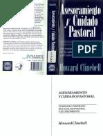 119560938 Asesoramiento y Cuidado Pastoral Howard Clinebell
