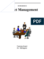 Project Management Training Material