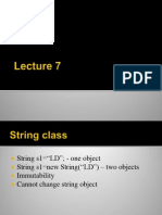 Lect 7(String)