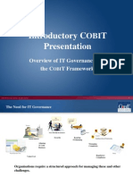 Cobit Introduction Presentation