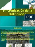 Sincronizacion de La Distribucion