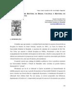 Listagem de fontes para o Brasil e o Maranhão Colonial