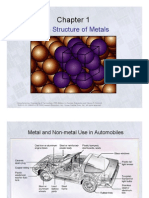 Structure of Metals