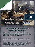 Maestros conforme al Corazón de Dios