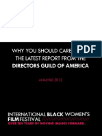 Why You Should Care About the Directors Guild of America's Latest Report