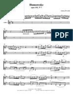 Dvorak Humoreske op. 101 no. 7