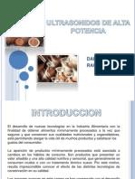 Ultrasonidos de Alta Potencia en La Agroindustria[1]
