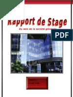 Rapport de Stage SG