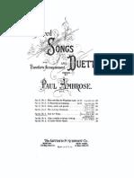 Sacred Songs, Op.25
