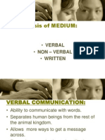 Bc - Types of Communication