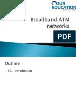 Broadband ATM networks