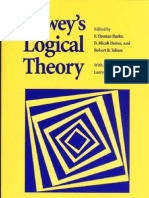F. Thomas Burke, D. Micah Hester, Robert B. Talisse Deweys Logical Theory New Studies and Interpretations 2002