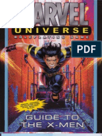 Marvel Universe RPG - Guide to the X-Men