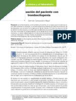Manejo de Trombocitopenias