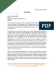Carta Publica Centro de Alumnos Ingeniería Civil PUCV