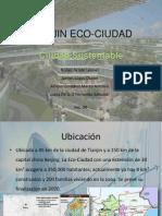 Tianjin Eco-ciudad Expo Opcion 1
